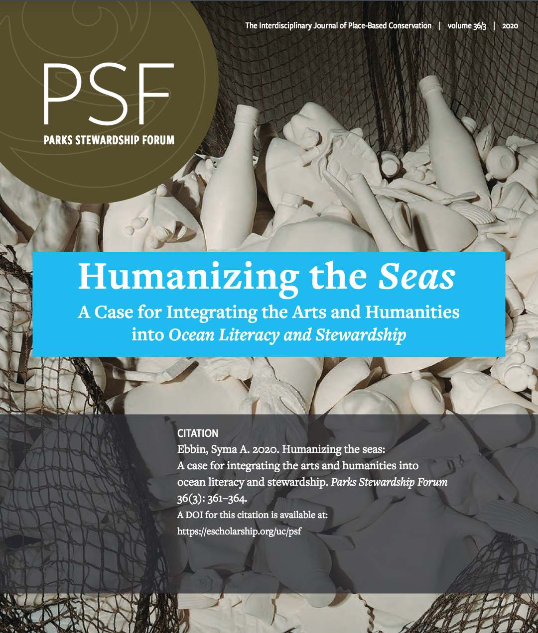Cover image of third issue of the Forum