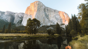 Image of half dome in Yosemite National Park